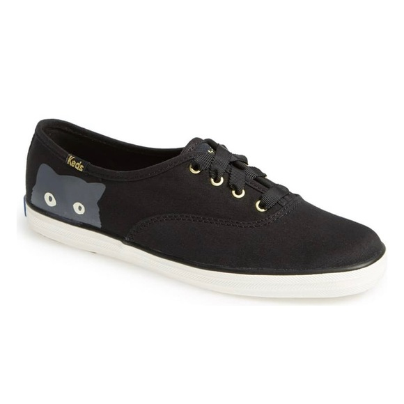 Keds Taylor Swift Sneakers Sneaky Cat Black Size 9